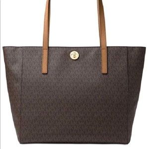 Michael Kors extra large signature tote
